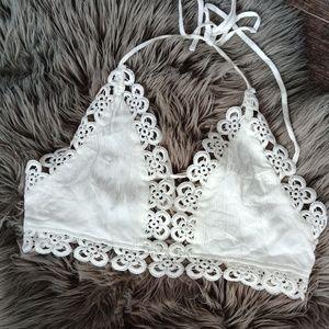 Beautiful crochet top/bra